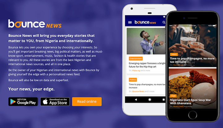 Bounce News launches in Nigeria with personalized news app