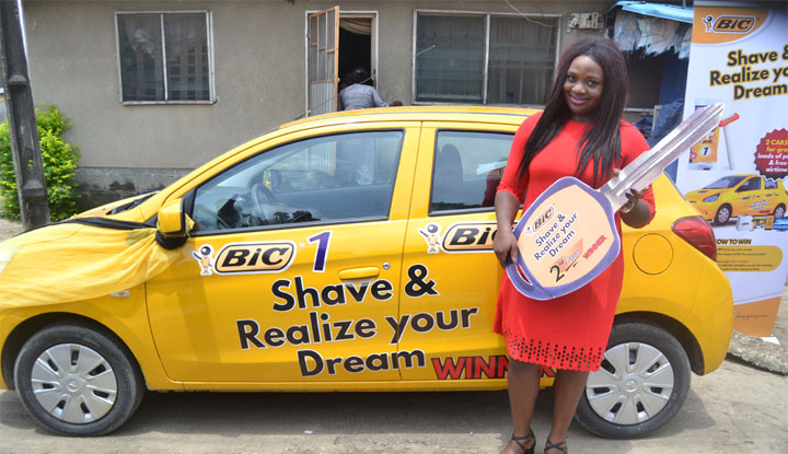 BIC Shavers' promo winner relishes success