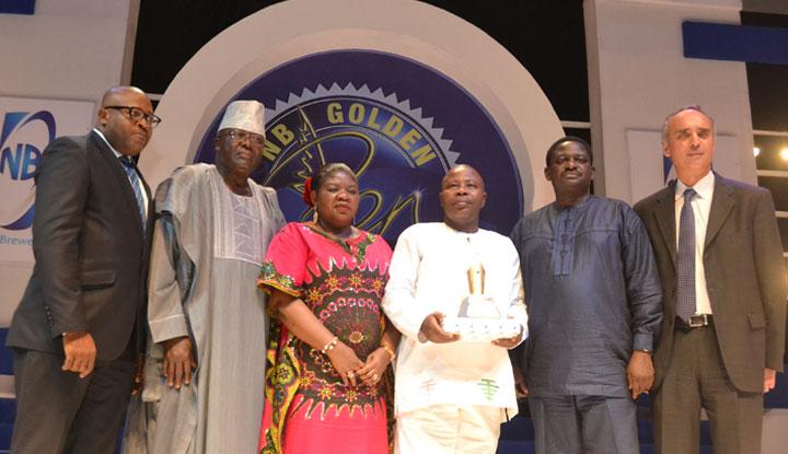 New Telegraph dominates at the 2017 Nigerian Breweries Golden Pen Award