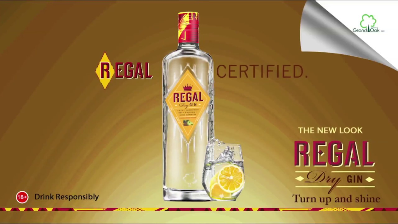 Grand Oak's Regal Dry Gin Excites Consumers at Advertisers Awards